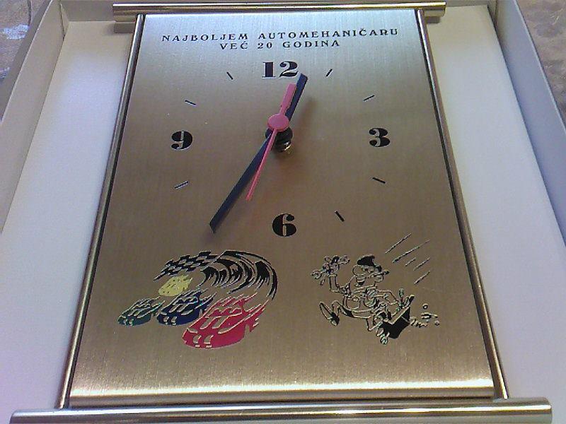 Zidni sat, veliki