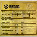 Oznaka karoserije za oldtajmer automobile