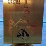 Nagrada za konjsku trku - mesing plaketa stojeća
