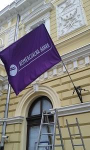 Držač zastave koji se montira na zid