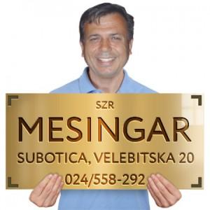 Mesingar SZR Subotica Velebitska 20